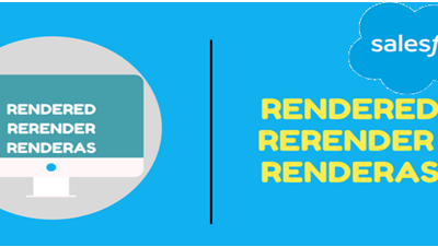 Difference between Rendered, ReRender and RenderAs in Visualforce Page